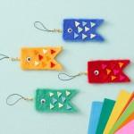 鯉のぼりを手作り!簡単な作り方は?折り紙・フェルトで子供と一緒に楽しく工作